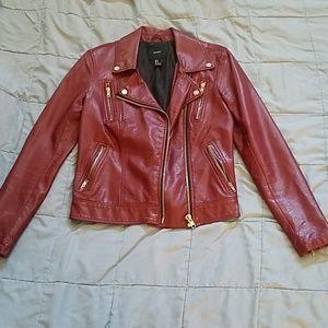 🔵3/$25 Pleather Jacket